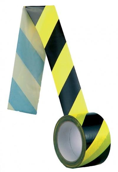 Banda delimitare, galben-negru, 100 m lungime, EB19 0