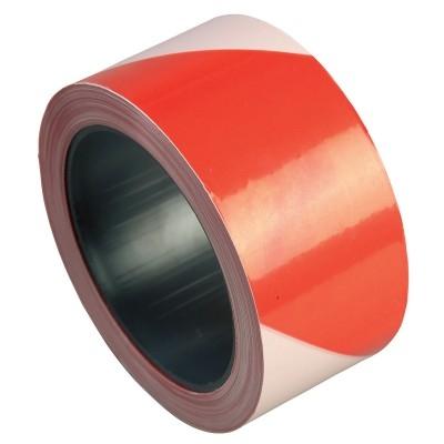 Banda delimitare alb-rosu, 70 mm latime, 200 m lungime 0