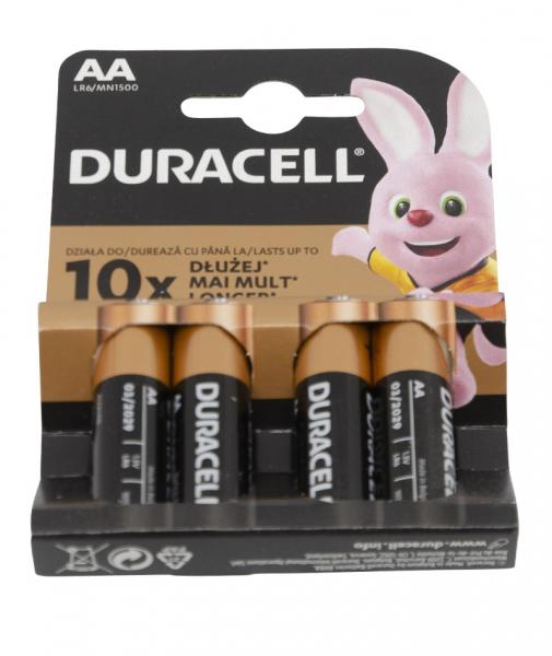 Baterii alcaline AA Duracell Ultra, 4 bucati 0