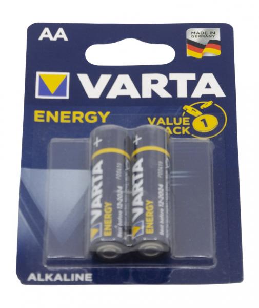 Baterii alcaline AA VARTA Energy, 2 bucati [0]