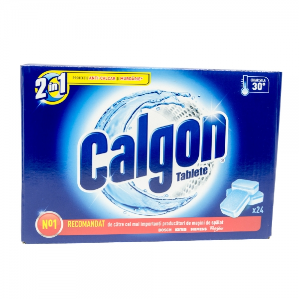 Calgon tablete anticalcar, 24 buc/set 0