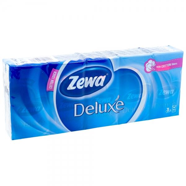 Batiste nazale Zewa Deluxe, 10 buc /set, 3 straturi 0