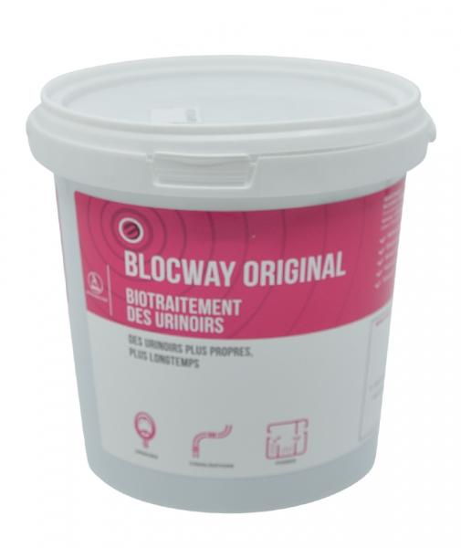 Biotratament parfumat pentru pisoare, BLOCWAY ORIGINAL, 12x40 g 0