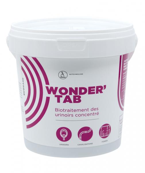 Biotratament concentrat pentru pisoare, WONDERTAB, 12x40 g 1