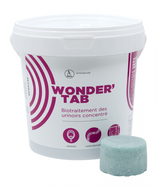Biotratament concentrat pentru pisoare, WONDERTAB, 12x40 g 0