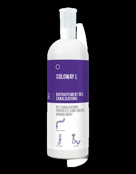 Biotratament pentru curatarea instalatiilor sanitare, COLOWAY L, 1 L 0
