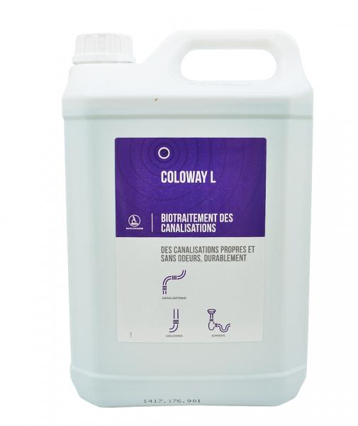 Biotratament pentru curatarea instalatiilor sanitare, COLOWAY L, 5 L 0