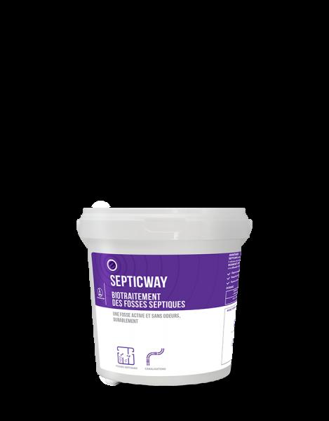 Biotratament pentru fose septice, SEPTICWAY DOSES, 12x100 g