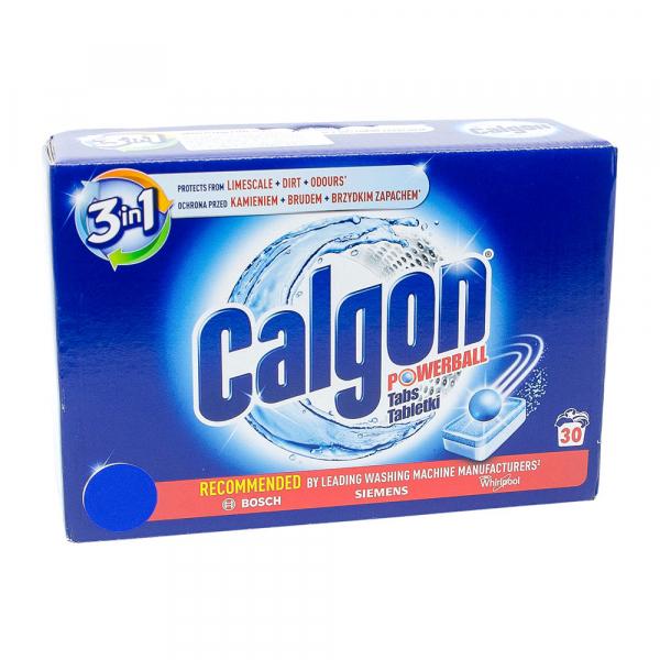 Tablete anticalcar Calgon Powerball, 30 bucati 0