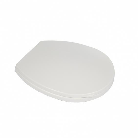 Capac pentru vasul wc, universal, alb [0]