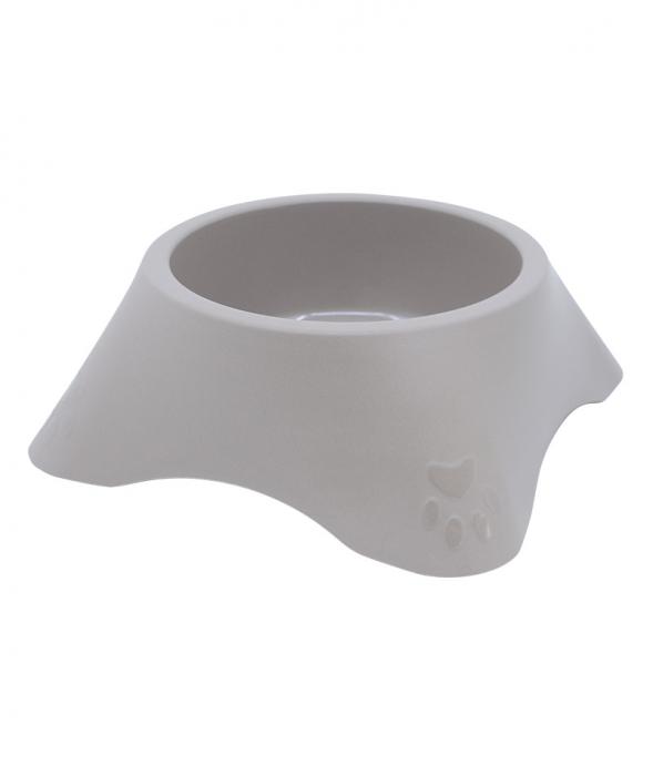 Castron din plastic pentru animale, 1.4 l, maro [0]
