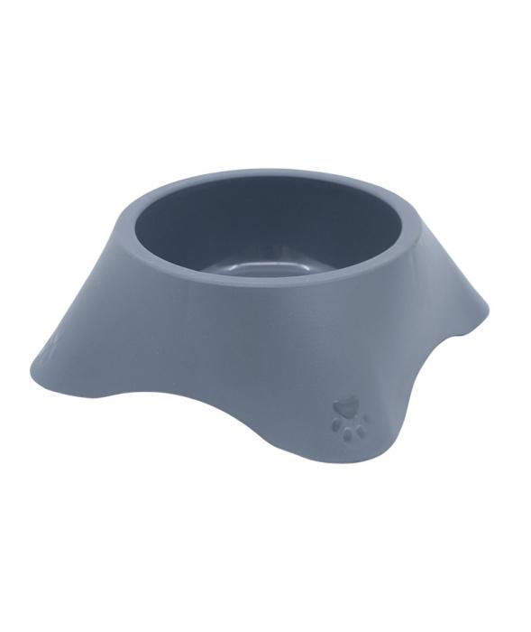 Castron din plastic pentru animale, 1.4 l, gri [0]