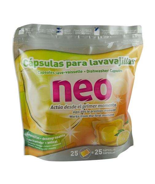 Detergent de vase capsule, 25 buc/pach 0