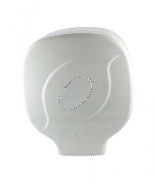 Dispenser hartie igientica Jumbo, alb 0