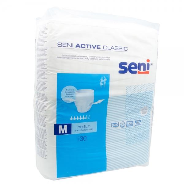 Chilot absorbant elastic Seni Active Classic, M, 30 buc [0]