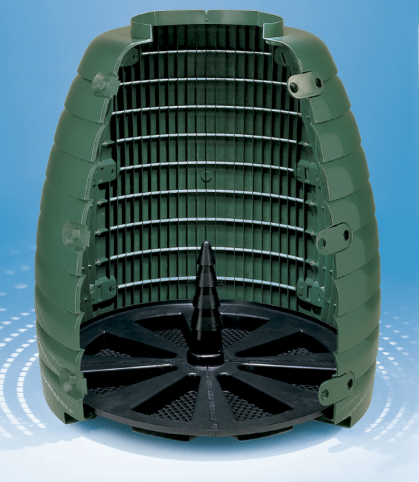 Compostor de gradina, verde, 660 L [3]