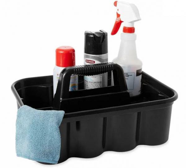 Cos din plastic pentru unelte / produse de curatenie 2