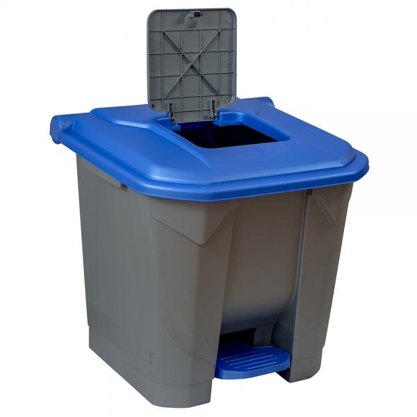 cos-gunoi-cu-pedala-cex-cube-30-l-albastru [1]