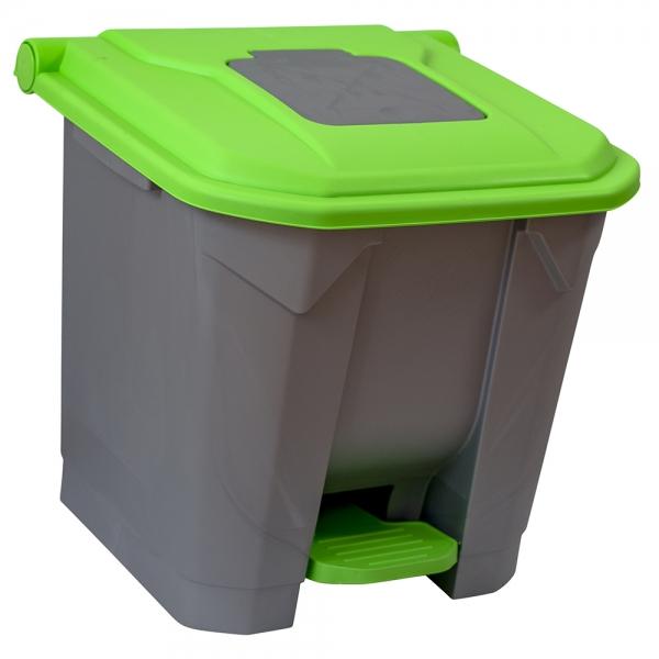 cos-gunoi-cu-pedala-cex-cube-30-l-verde [1]