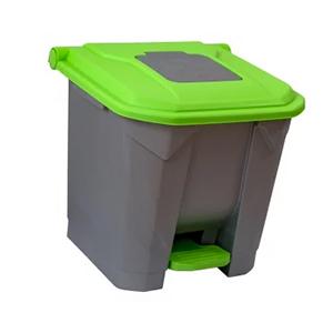 cos-gunoi-cu-pedala-cex-cube-30-l-verde [0]