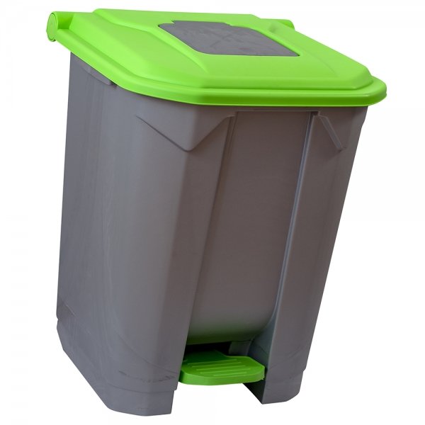 cos-gunoi-cu-pedala-cex-cube-50-l-verde [0]