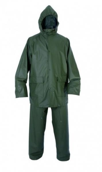 Costum impermeabil, PVC pe suport textil