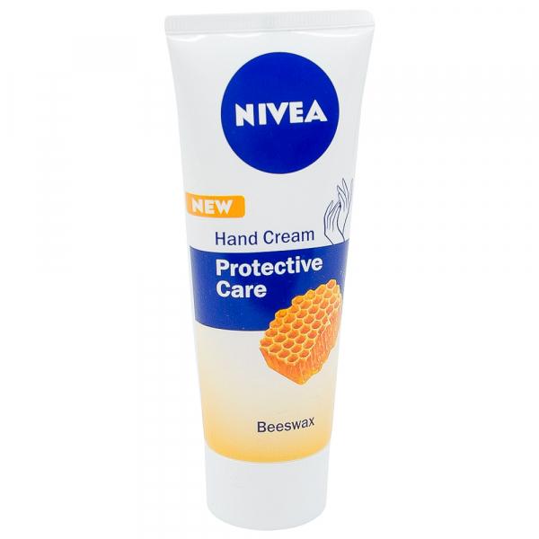 Crema de maini, Nivea, Protective Care cu Ceara de albine, 75 ml [0]