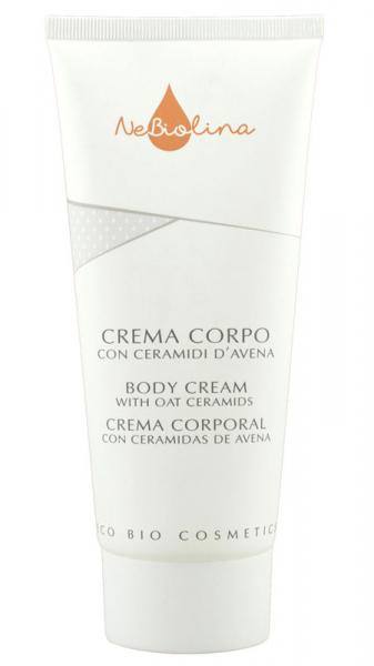 Crema pentru corp cu ceramide din ovaz, NeBiolina, BIO, 200 ml 0