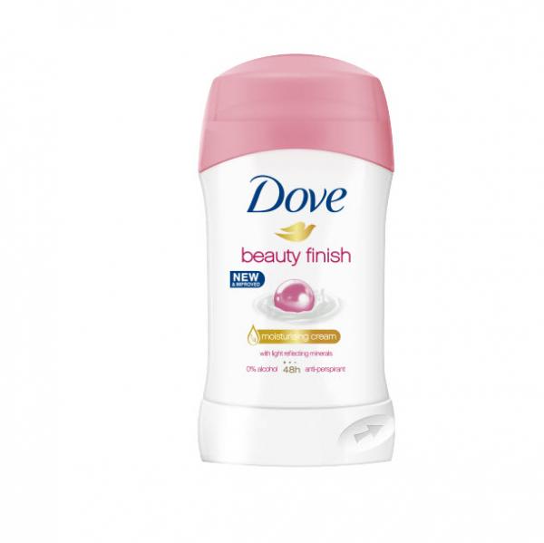 Deodorant antiperspirant Dove Beauty Finish, stick, 40 ml [0]