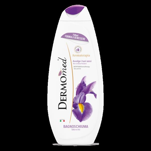 Dermomed Idratante - Gel de dus cu talc si iris, 750 ml [0]