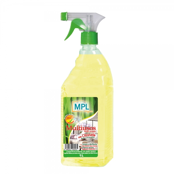 Detergent uz universal Citronella (repelent natural pentru tantari), 1L 0