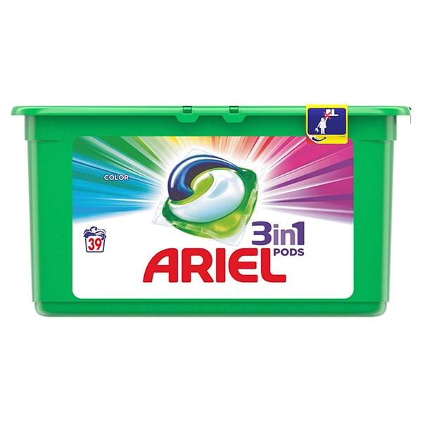 Detergent capsule Ariel 3in1 Pods Color, 39 spalari 0