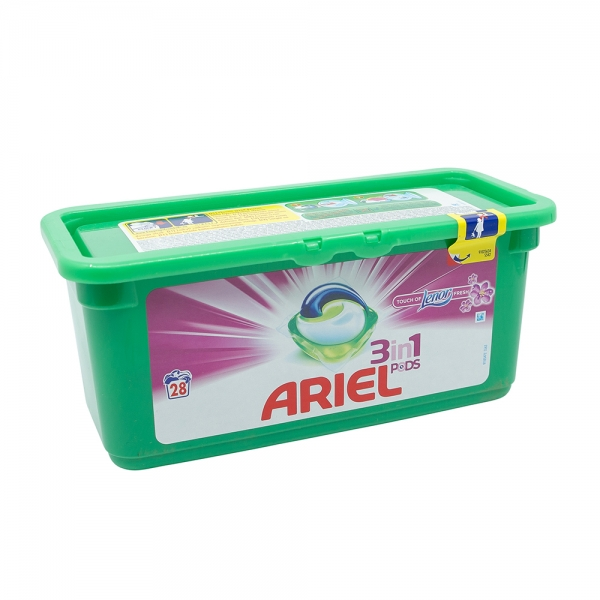 Detergent capsule Ariel 3in1 Pods Touch of Lenor Fresh, 28 spalari 0