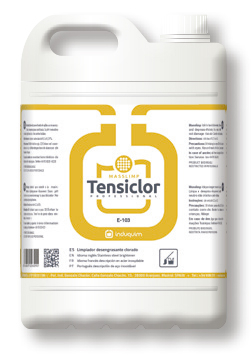 Detergent degresant  si igienizant cu clor, Tensiclor, 5 L 0