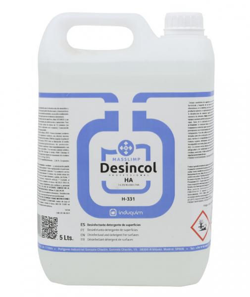 Detergent igienizant pentru suprafete, Desincol, 5 L [0]