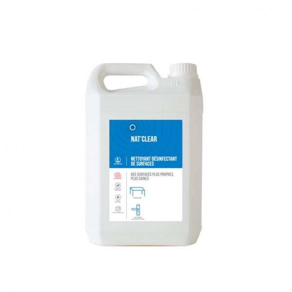 Detergent igienizant pentru suprafete,  Bio, NAT CLEAR, 5 L 0