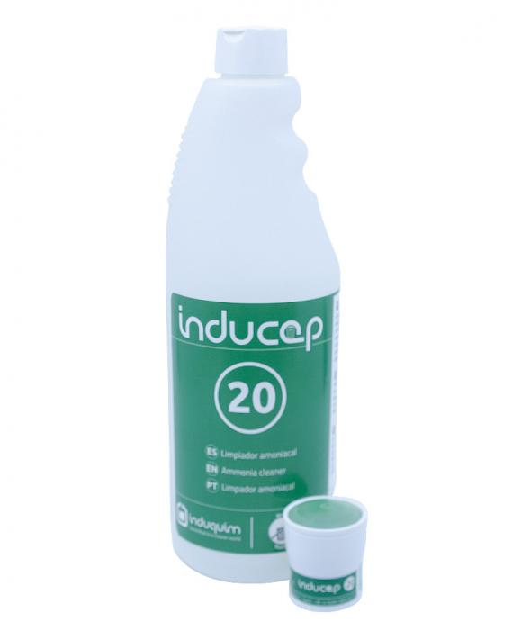 Kit detergent igienizant ultraconcentrat cu amoniac, Inducap 20, 22 ml [0]