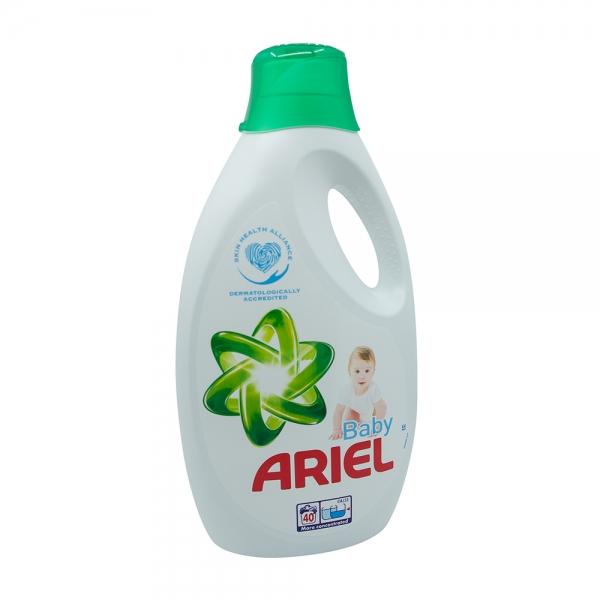 Detergent lichid Ariel Baby, 2.2 l, 40 spalari 0