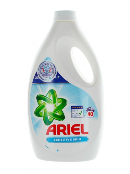 Detergent lichid Ariel Sensitive Skin, 2.2 l, 40 spalari [0]