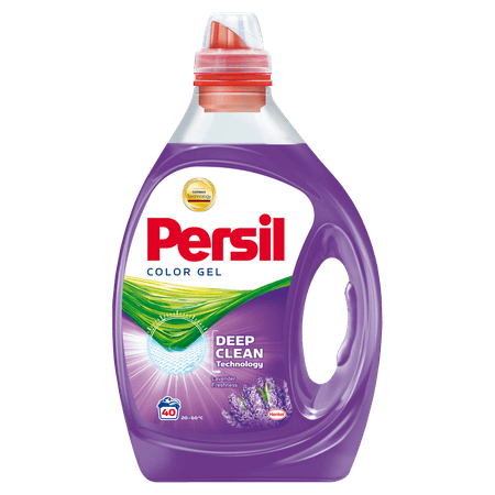 Detergent lichid Power Gel Color Lavender, Persil, 40 spalari, 2 L [0]