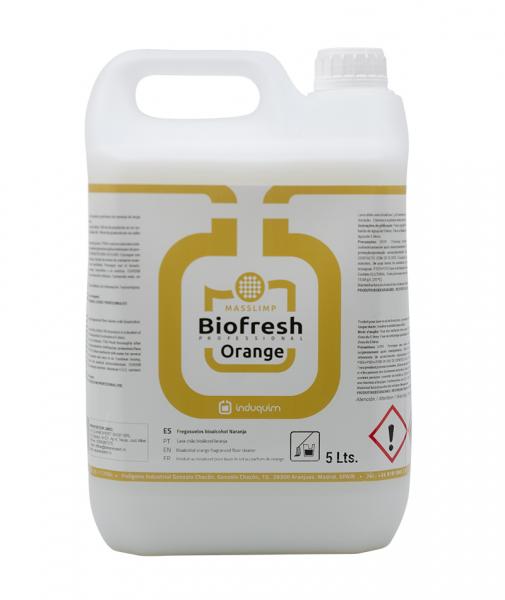 Detergent pardoseala Biofresh Portocala, 5L 1