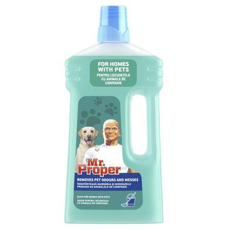 Detergent universal pentru iubitorii de animale, Mr. Proper, 1 L 0