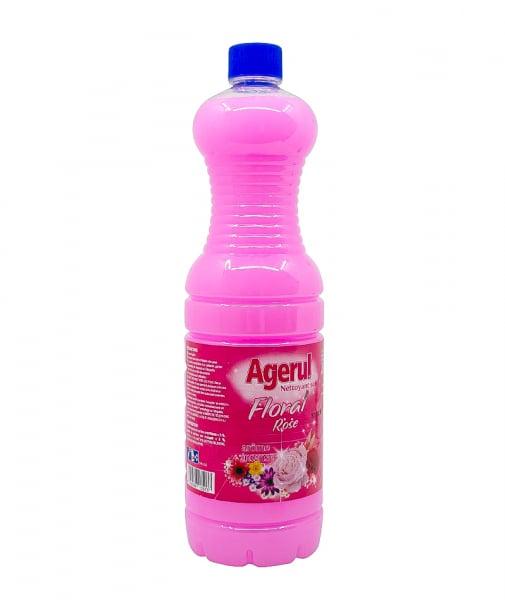 Detergent pardoseala Floral Rose, Agerul, 1.5 L 0