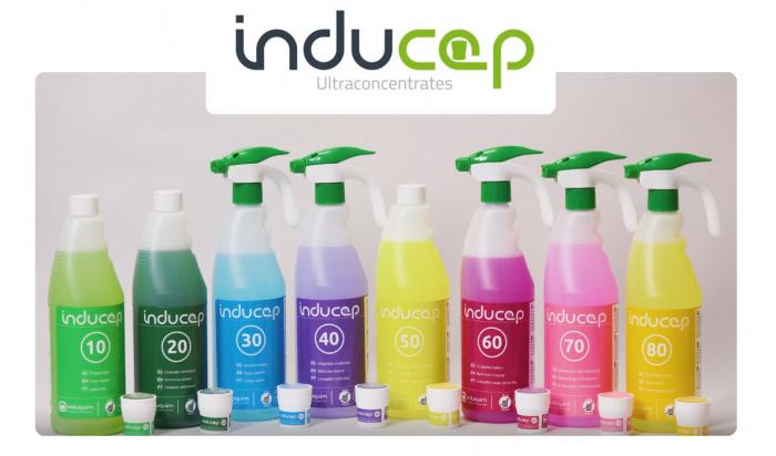 Detergent igienizant ultraconcentrat cu amoniac, Inducap 20, 22 ml [1]