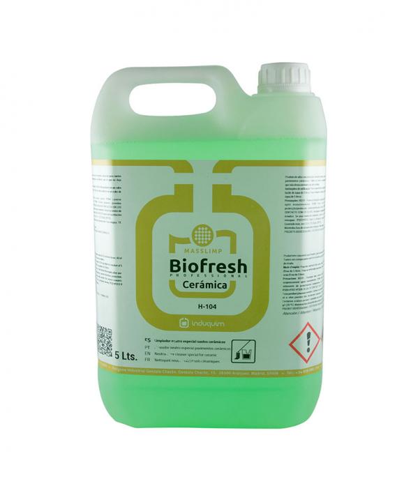 Detergent pentru pardoseli ceramice ph neutru, Biofresh Ceramica, 5L [0]