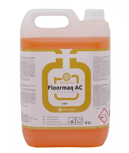 Detergent acid pentru masini de spalat pardoseli, Floormaq AC, 5L 0