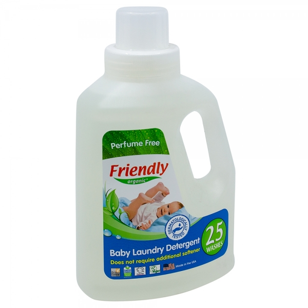 Detergent Rufe Bebe – Fara Miros Friendly Organic, 739 ml, 25 spalari [0]