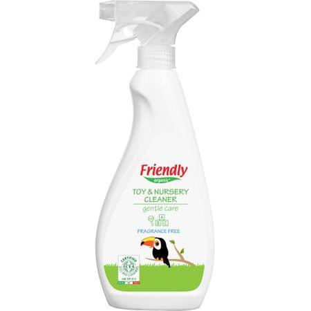 Detergent Spray Jucarii & Suparafete Friendly Organic,250 ml 0