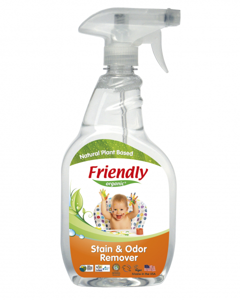 Detergent Spray Pete & Mirosuri Friendly Organic,650 ml 0