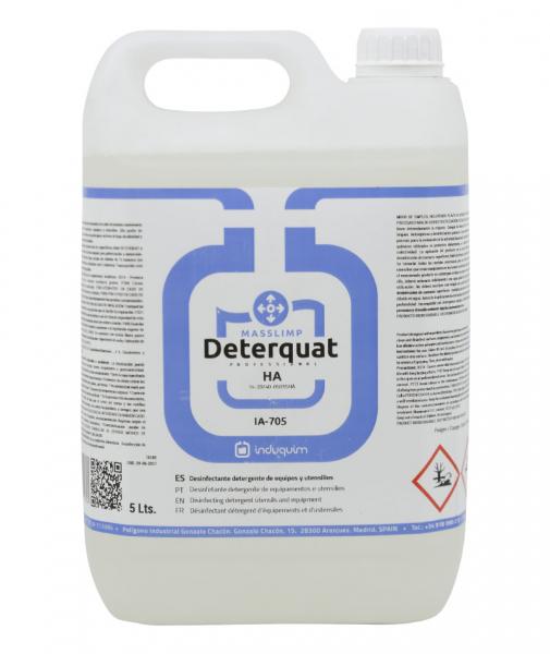 Detergent igienizant pentru echipamente si ustensile, Deterquat, 5 L 0